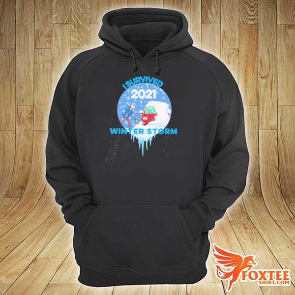 I Survived Snovid-2021 Arkansas Snowstorm Winter Storm 5 Shirt hoodie