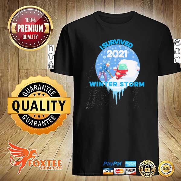 I Survived Snovid-2021 Arkansas Snowstorm Winter Storm 5 Shirt