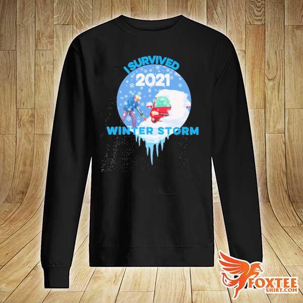 I Survived Snovid-2021 Arkansas Snowstorm Winter Storm 5 Shirt sweater