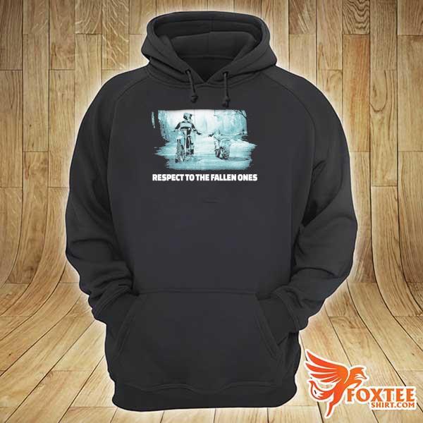 Respect To The Fallen Ones Motocross Shirt hoodie