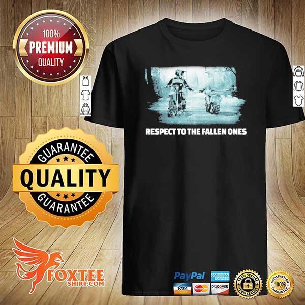 Respect To The Fallen Ones Motocross Shirt