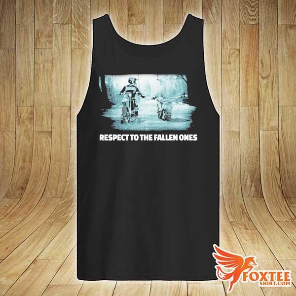 Respect To The Fallen Ones Motocross Shirt tank-top