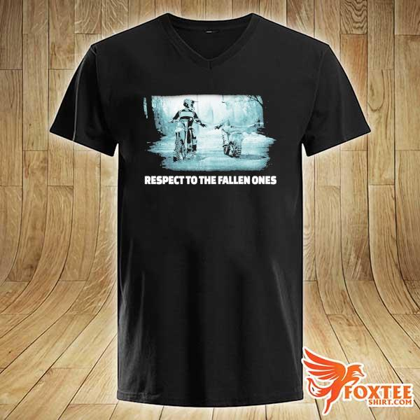 Respect To The Fallen Ones Motocross Shirt v-neck