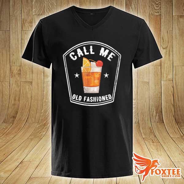 Vintage Call Me Old Fashioned Shirt v-neck