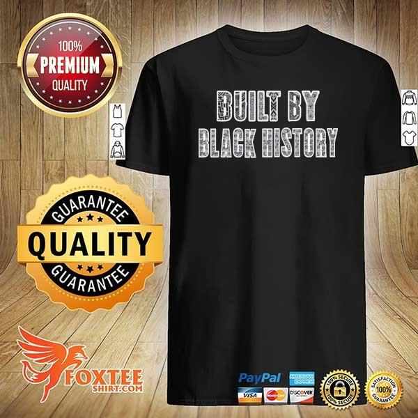 Built by black history los angeles lakers shirt