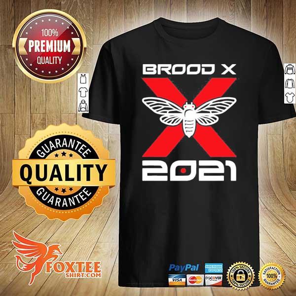 Cicada Brood X 2021 Reemergence Theme Minimalist Shirt