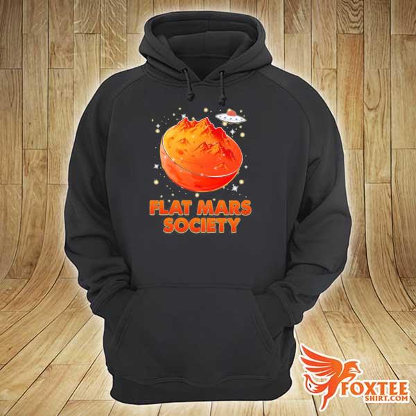 Flat mars society– planets– outer space s hoodie