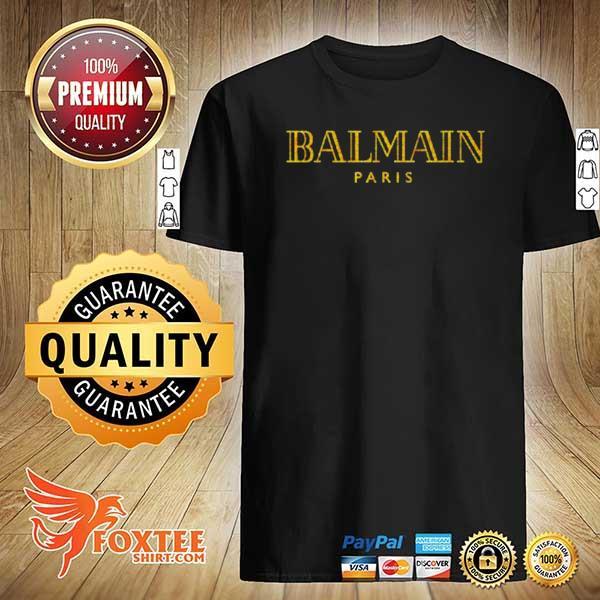 Awesome balmain fashion paris shirt