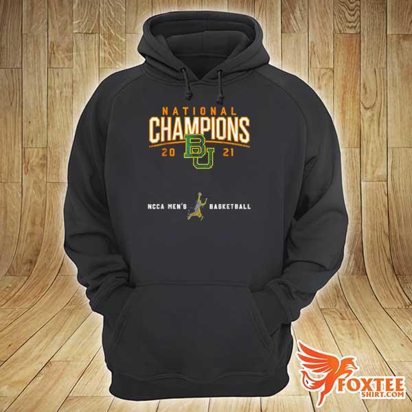 Awesome baylor national championship 2021 basketball game hoodie