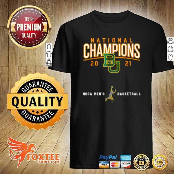 Awesome baylor national championship 2021 basketball game shirt