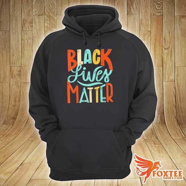 Awesome black lives matter blm vintage hoodie