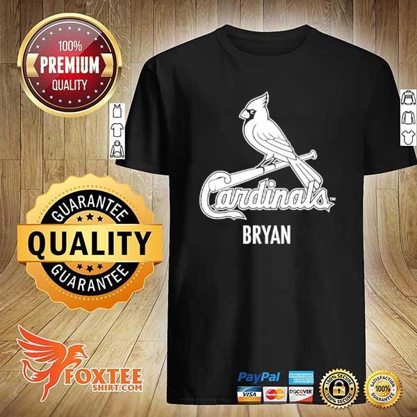 Awesome cardinals bryan shirt