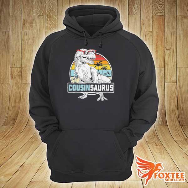 Awesome cousinsaurus dinosaur cousin saurus vintage hoodie