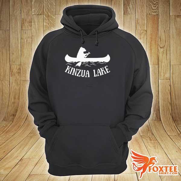 Awesome kinzua lake pennsylvania bear canoe hoodie