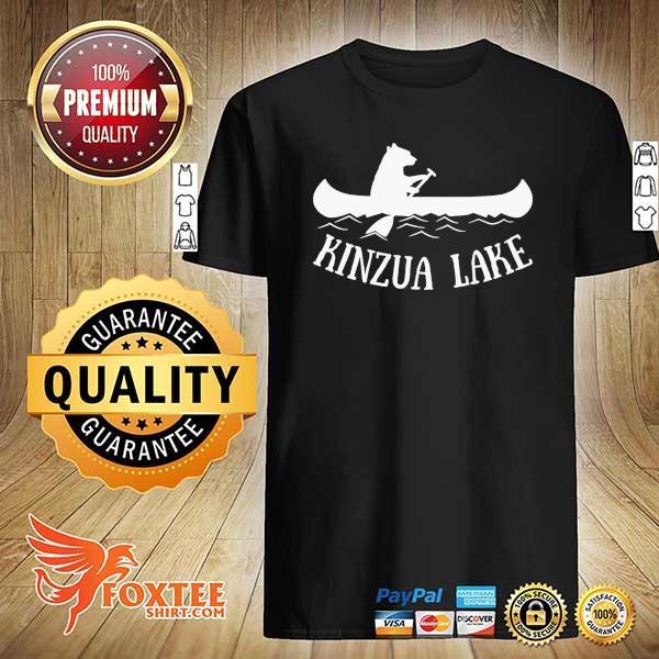 Awesome kinzua lake pennsylvania bear canoe shirt