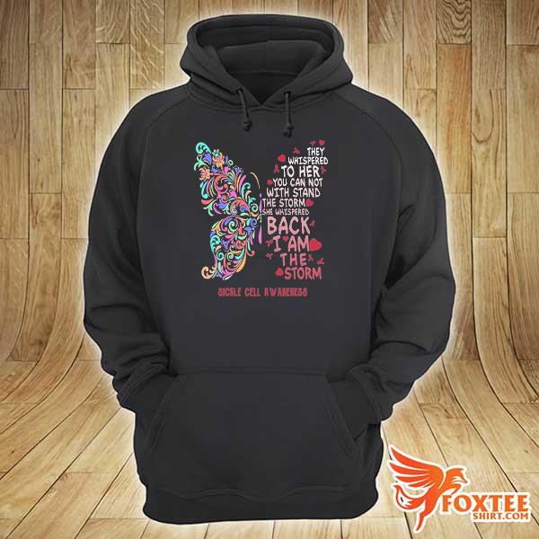 Butterfly sickle cell anemia awareness s hoodie