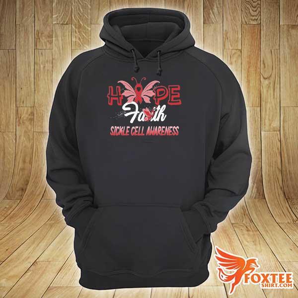 Hope faith sickle cell awareness s hoodie
