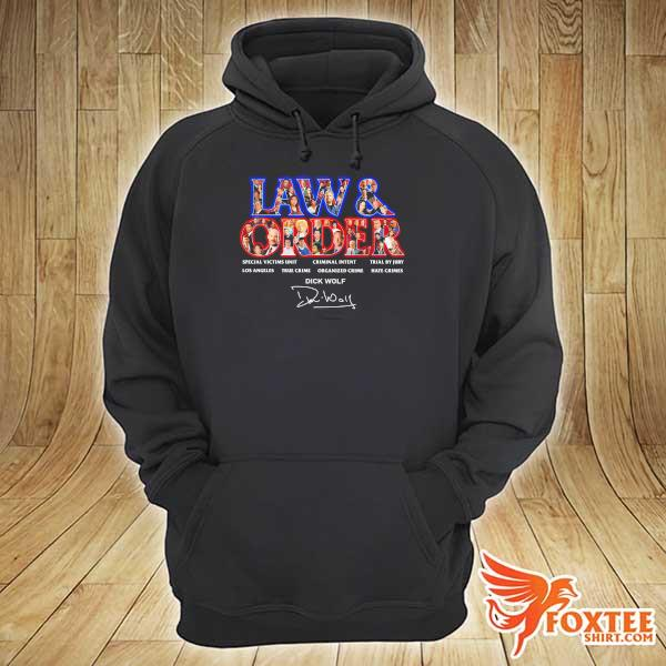 Original jaw & order special victims unit criminal intent trial by jury signaute hoodie