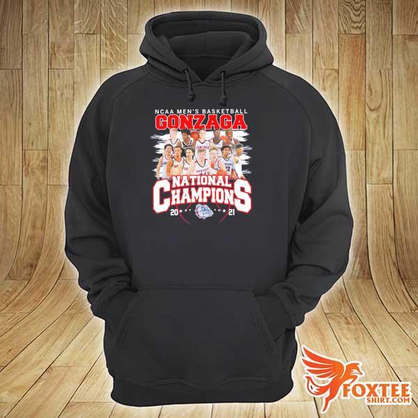 Original ncaa men's basketball gonzaga national champions 2021 hoodie