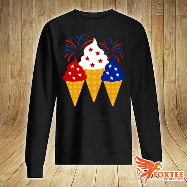 Creams American 4th Of July Independence Day Shirt sweater