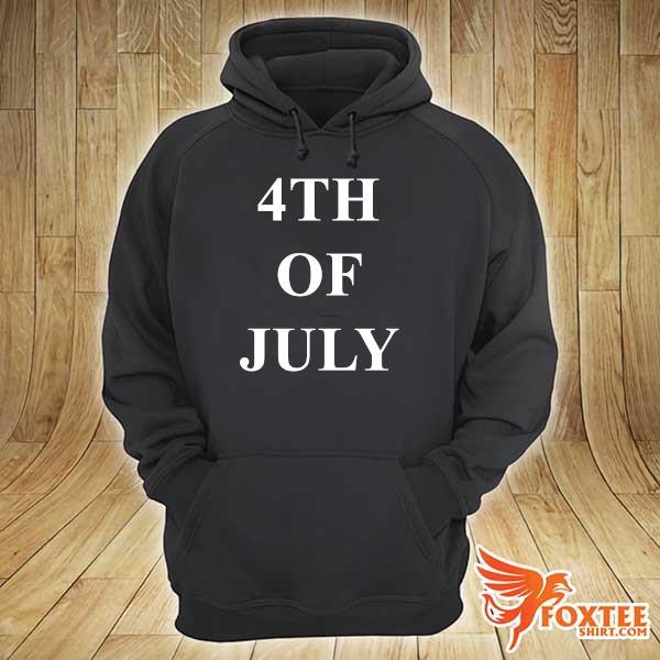 Foxteeshir - 4th of july black hoodie