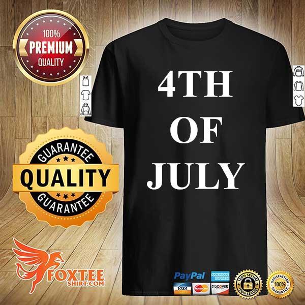 Foxteeshir - 4th of july black shirt