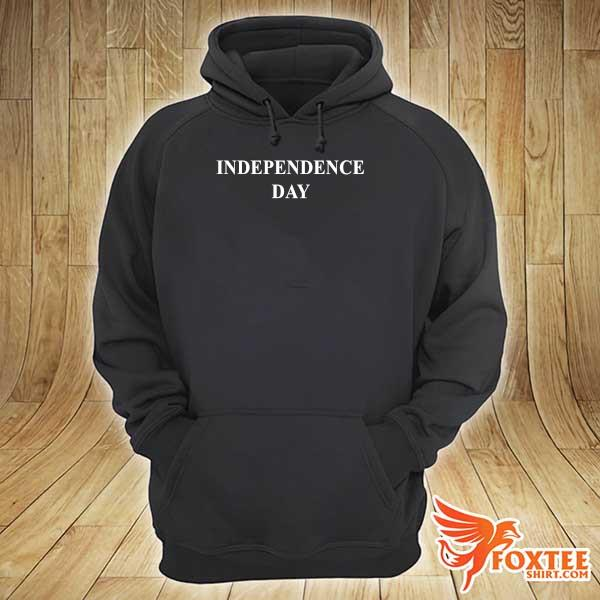 Foxteeshirt - Independence Day Black Shirt hoodie