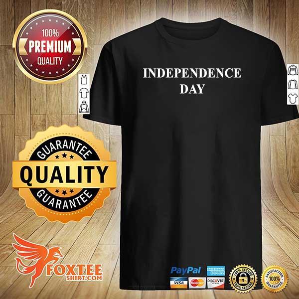 Foxteeshirt - Independence Day Black Shirt