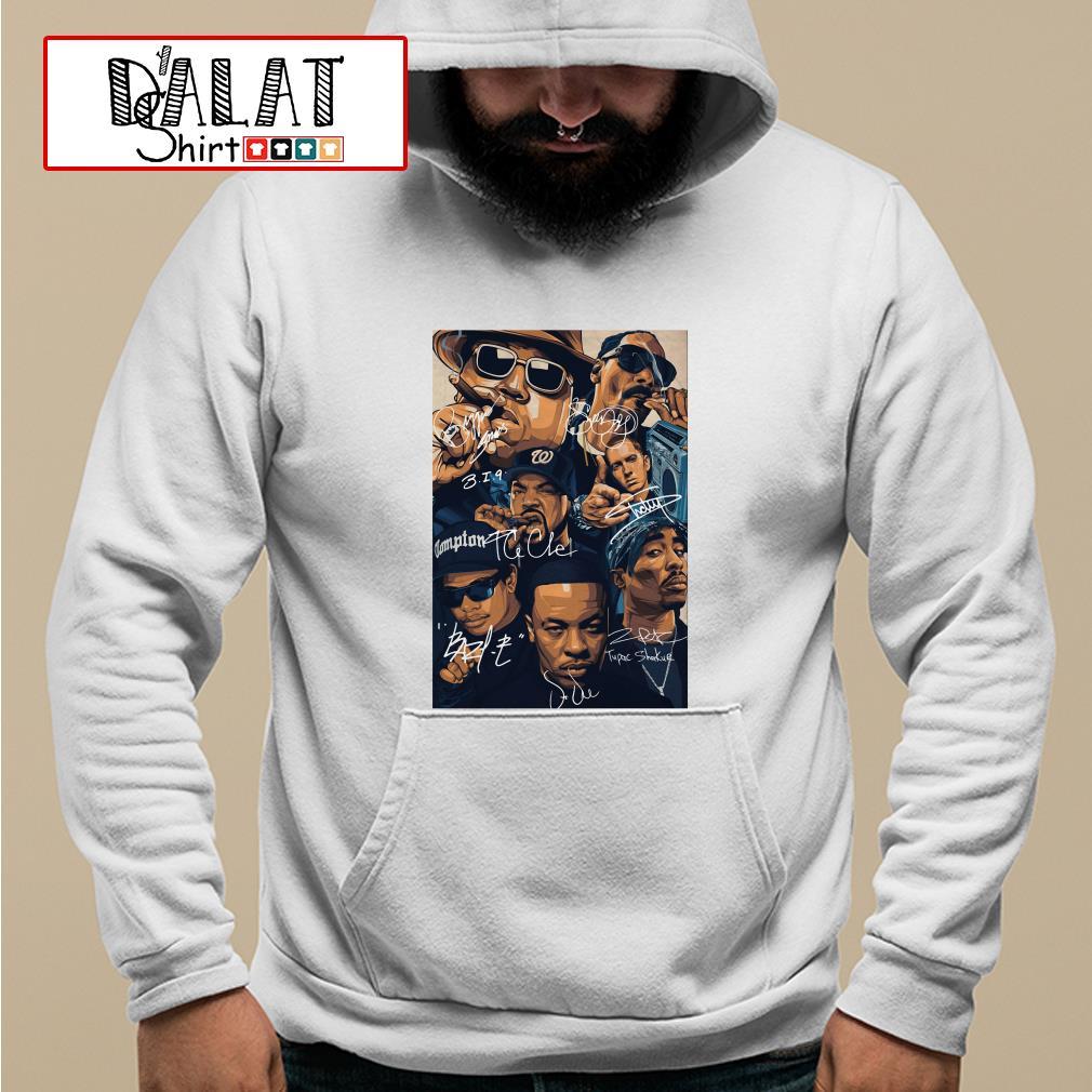 Compton team rapper signature Hoodie