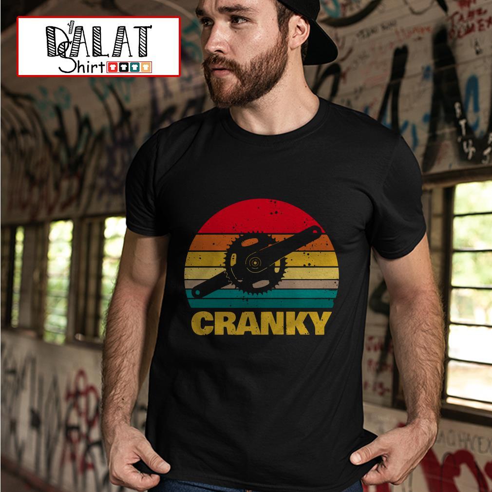 Cranky bicycle vintage shirt