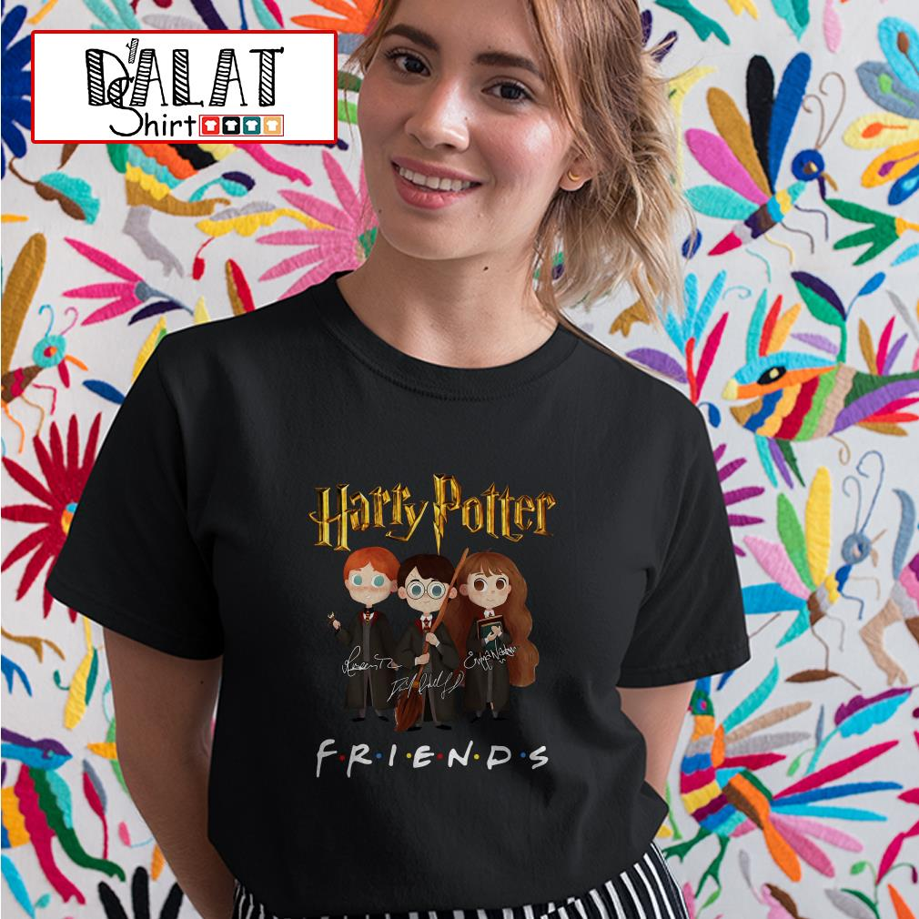 Harry Potter friends signature Ladies tee