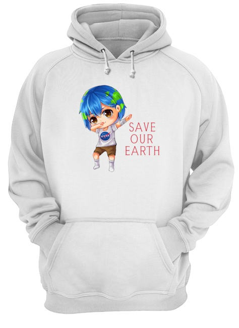 Earth Chan Save Our Earth Dabbing Shirt