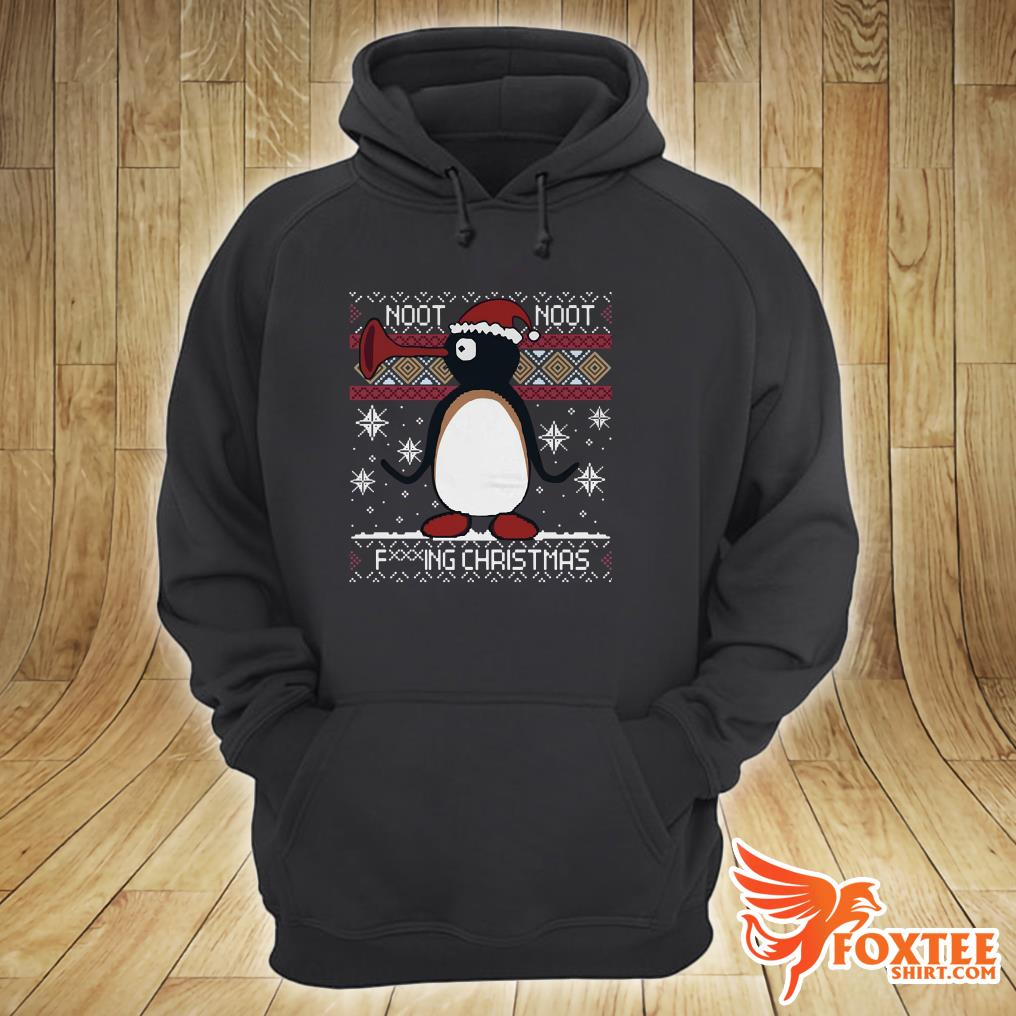 Pingu Noot Noot Fucking Christmas Ugly Shirt