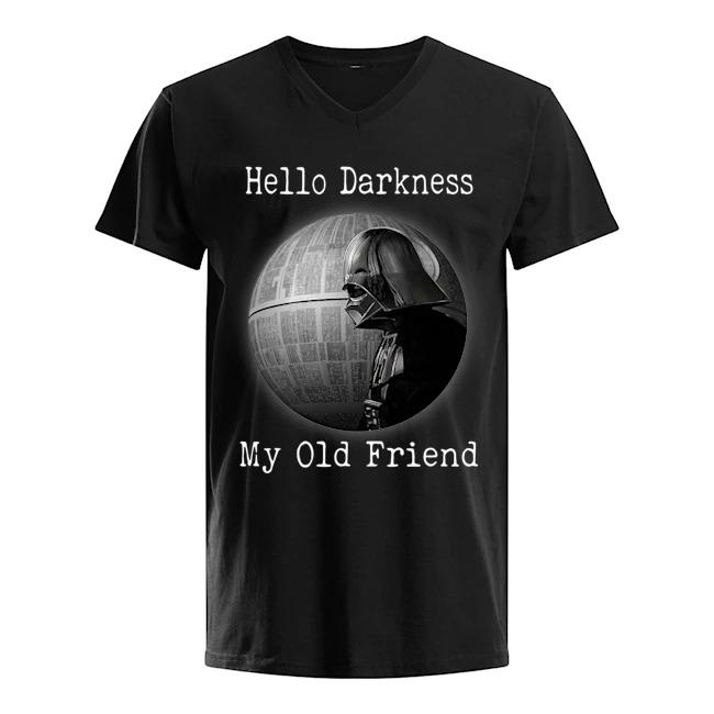 Star Wars Darth Vader Death Star Hello Darkness My Old Friend Shirt