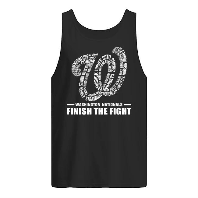Washington Nationals finish the fight shirt
