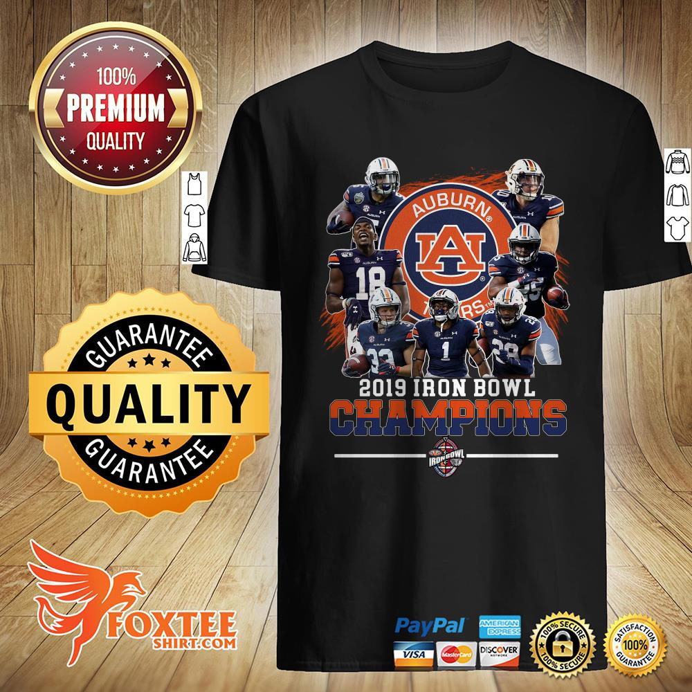 Official Auburn Tigers 2019 Iron Bowl Champions Shirt