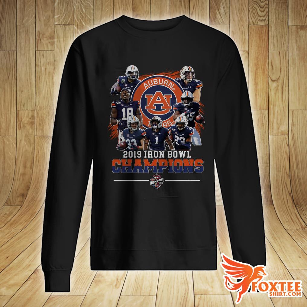 Official Auburn Tigers 2019 Iron Bowl Champions Shirt