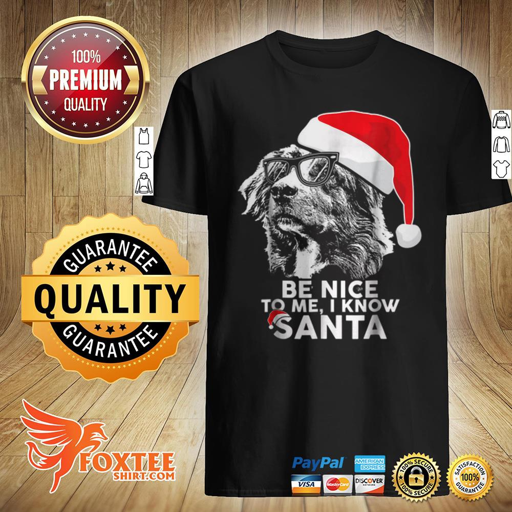 Awesome Be Nice Australian Shepherd Christmas Funny Xmas Gift sweater