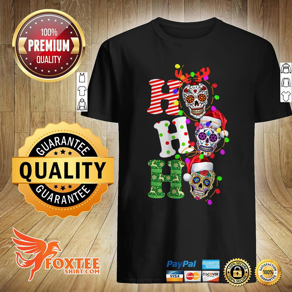 Official Sugar Skull Ho Ho Ho Christmas Sweater