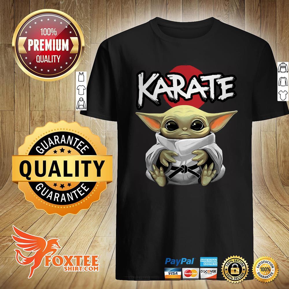 Star Wars Baby Yoda Hug Karate Shirt