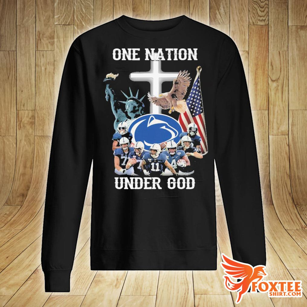 America Penn State Nittany Lions One Nation Under God Shirt sweater