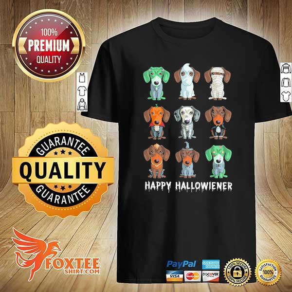 Dachshund Happy Halloweiner Shirt
