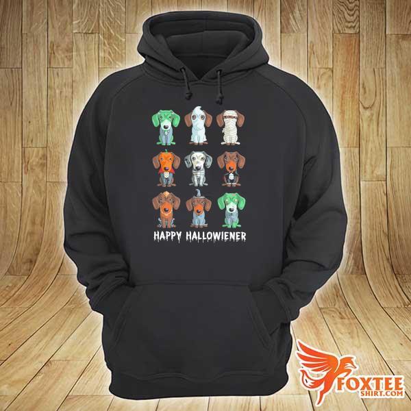 Dachshund Happy Halloweiner Shirt hoodie