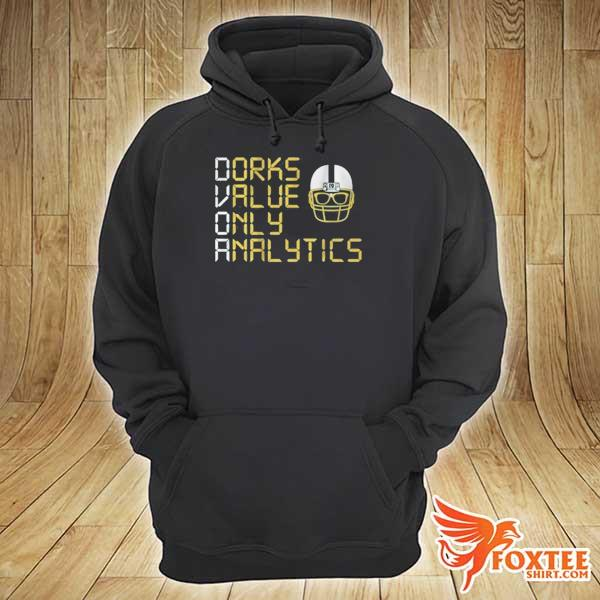 Dorks Value Only Analytics DVOA Shirt – Football Outsiders hoodie