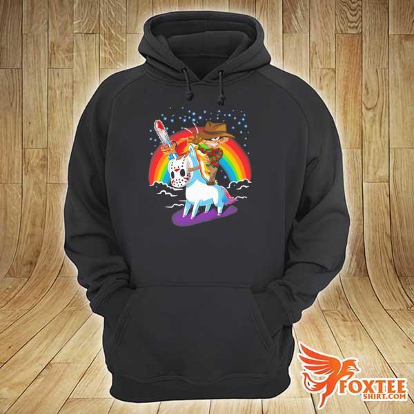 Freddy Krueger Ride Unicorn Nightmare On Elm Street Halloween Shirt hoodie