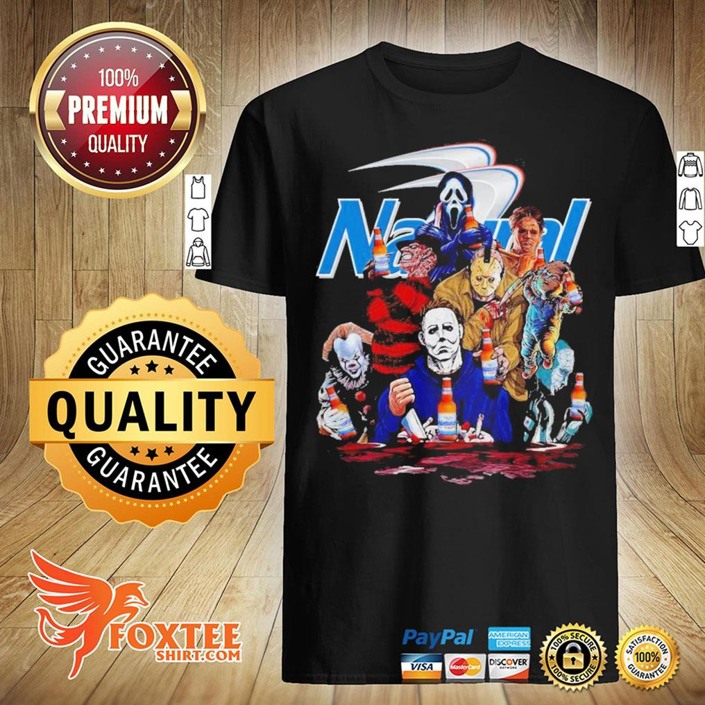Funny Horror Movie Characters Natural Light Shirt