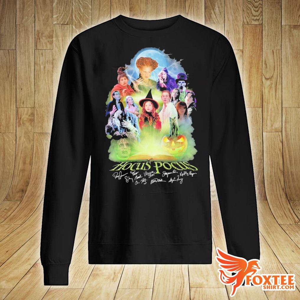 Hocus Pocus Movie Characters Signatures Shirt sweater