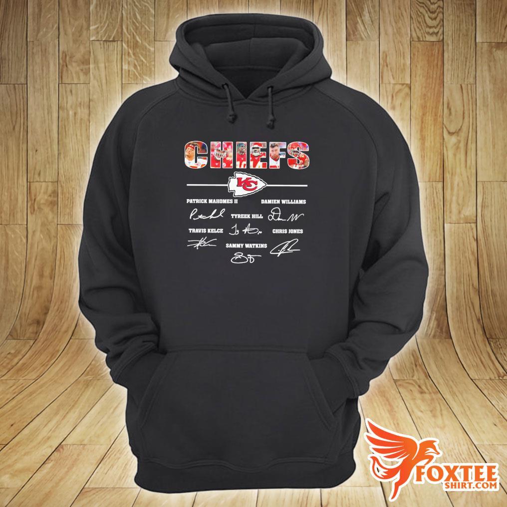 Kansas City Chiefs All Players Signatures Shirt hoodie