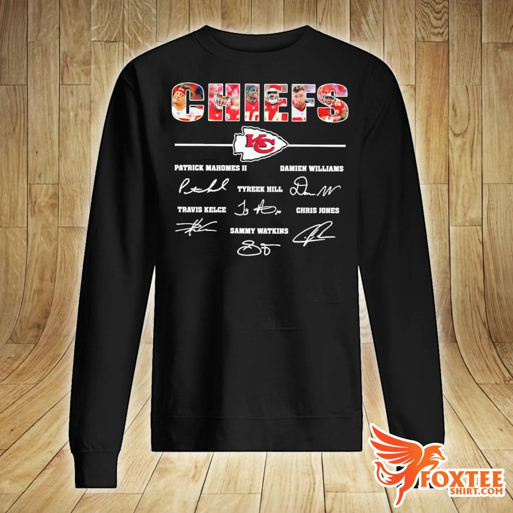 Kansas City Chiefs All Players Signatures Shirt sweater