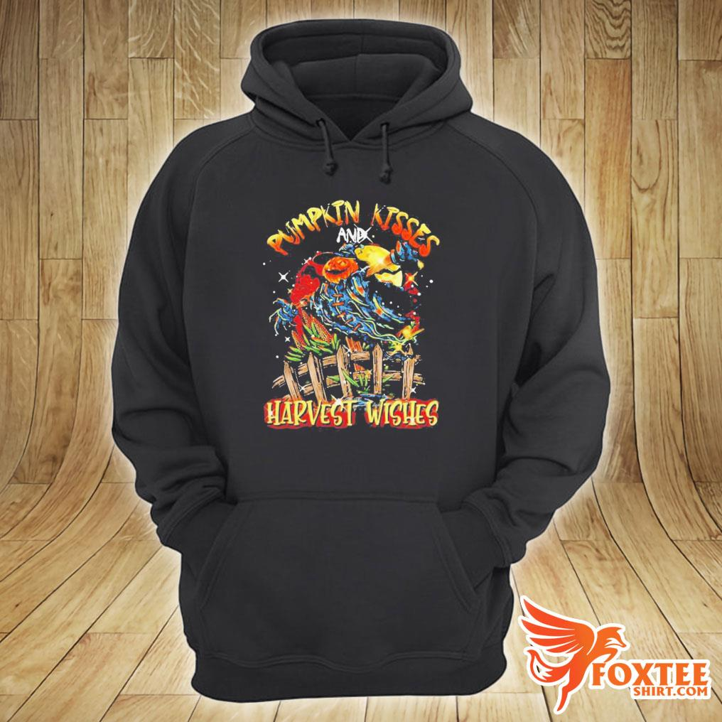 Pumpkin Kisses And Harvest Wishes Shirt hoodie